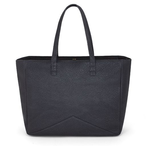 The Carryall Tote - Black | FACINE