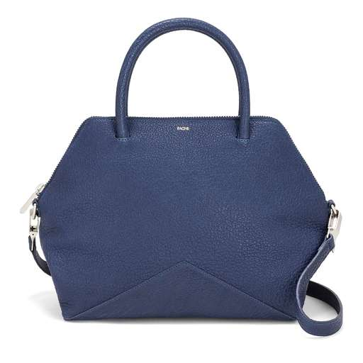 The Medium Satchel - Navy | FACINE