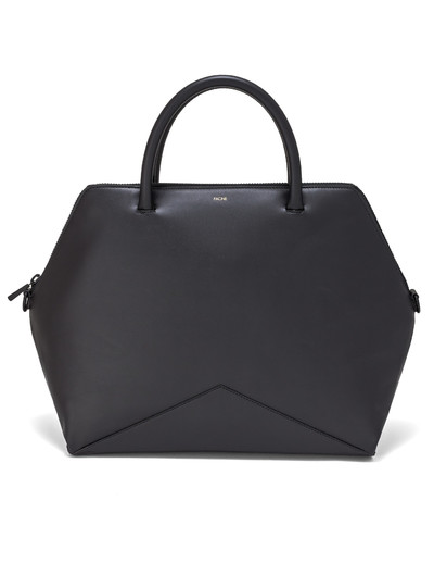 The Large Satchel - Black | FACINE