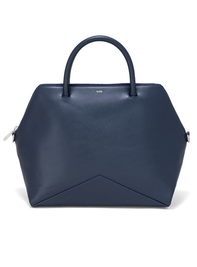 The Large Satchel - Navy | FACINE