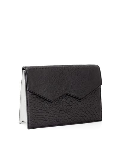 The Oversize Clutch - Black / White | FACINE