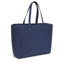 The Carryall Tote - Navy | FACINE
