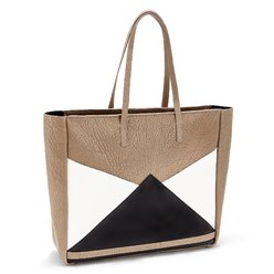 The Carryall Tote - Brown / White | FACINE