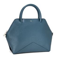 The Medium Satchel - Ocean | FACINE