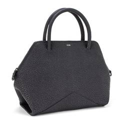 The Medium Satchel - Black | FACINE